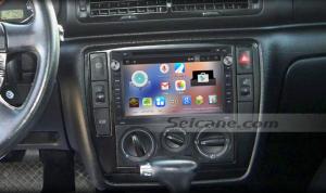 2001-2011 VW Volkswagen MK5 car stereo after installation