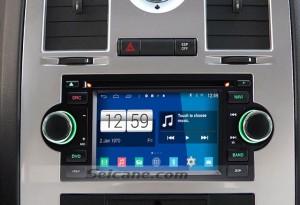 2002-2008 Dodge RAM Pickup radio after installation