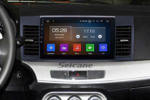 2007-2015 Mitsubishi LANCER car stereo after installation