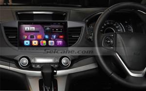 2013 2014 2015 Honda CRV high version head unit after installation