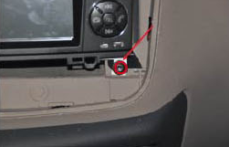 3. Remove the screw on the lower right