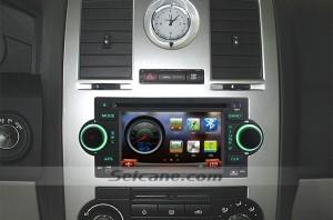2002 2003-2007 Dodge Dakota P U radio after installation