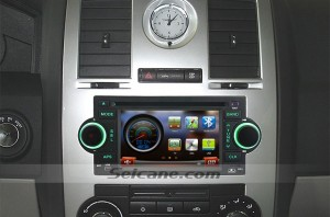 2005 2006 2007 Jeep Grand Cherokee(W Factory NAV) car stereo after installation