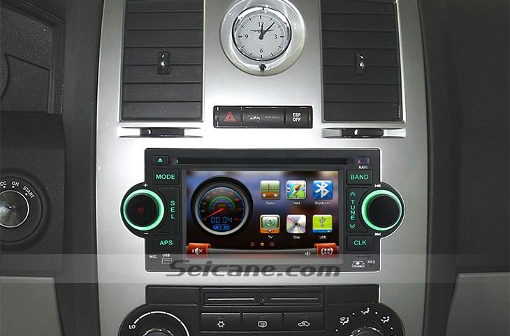 2005 2006 2007 Jeep Grand Cherokeewfactory Nav Car Stereo Rhseicane: 2007 Jeep Grand Cherokee Radio With Nav At Taesk.com