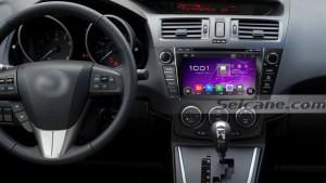 2009-2012 MAZDA 5 car radio after installation