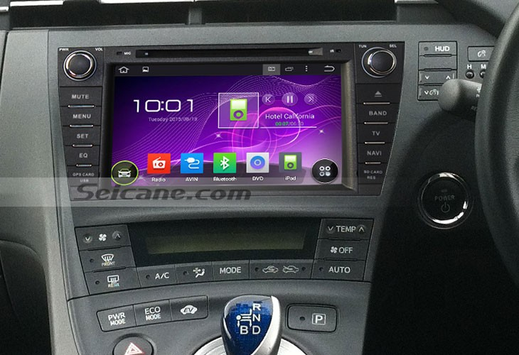 2009-2013 Toyota PRIUS right head unit installation | car dvd player