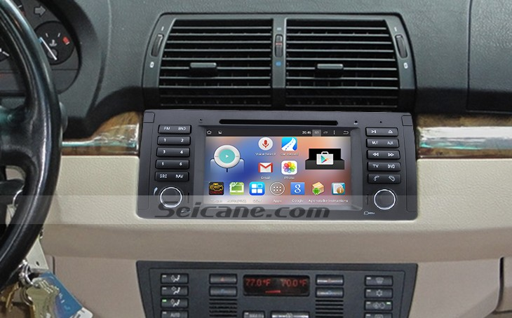 1996-2003 BMW 5 Series E39 bluetooth dvd navigation system