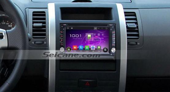 2004-2010 Nissan VERSA Bluetooth gps dvd stereo after installation