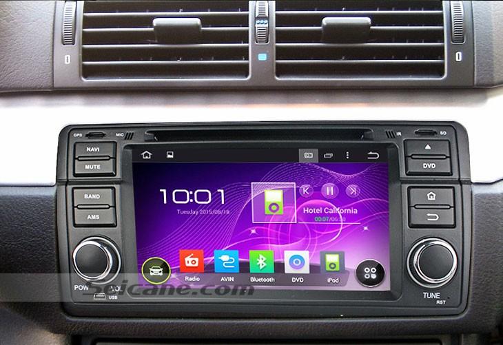 1998-2005 BMW E46 gps dvd Bluetooth stereo installation