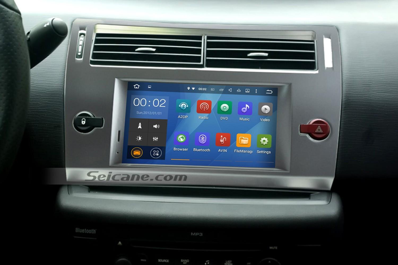 2004-2010 CITROEN C4 navigation system head unit installation | car