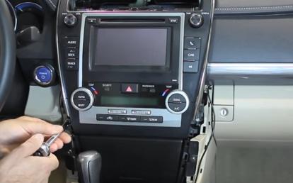 2012 2013 Toyota CAMRY Bluetooth DVD Car Radio installation