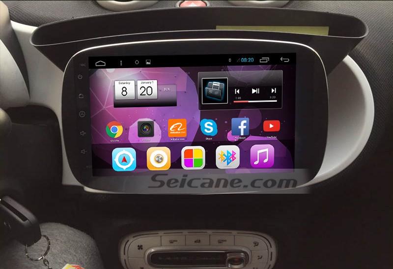 2015 2016 Mercedes-Benz SMART Car Sound System after installation
