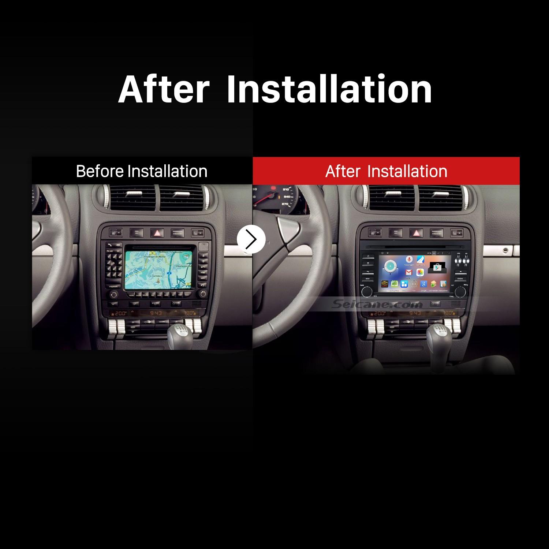 2003 2011 Porsche Cayenne Gps Dvd Car Stereo Installation Wire Harness Mini Cooper 06 2006 Radio Wiring After