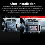 2004-2009 VW Volkswagen GOLF Stereo Pure Sound System after installation