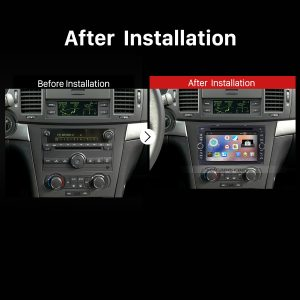 2006-2011 Chevy Chevrolet Epica Radio after installation