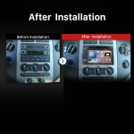 2007-2010 Ford Expedition Stereo after installation