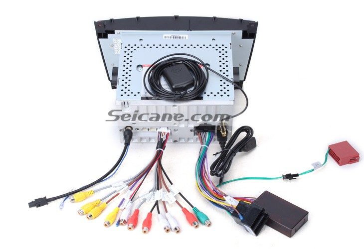 12. Connect the harnesses to the back of the new Seicane stereo 2004 2011 Mercedes Benz CLK W209 CLK270 CLK320 CLK350 CLK500 CLK550 Radio 2004 2011 mercedes benz clk w209 clk270 clk320 clk350 clk500 2004 Ford Explorer Stereo Wire Harness at virtualis.co
