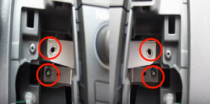 6-1 Position for screws