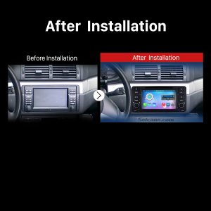 1998-2006 BMW M3 Car Stereo after installation