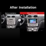 2006-2011 Ford Fusion GPS Bluetooth DVD Car Radio after installation