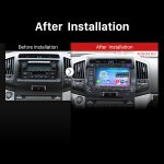 2007 2008 2009 2010 2011 2012 2013 Toyota Land Cruiser 200 Car Radio after installation