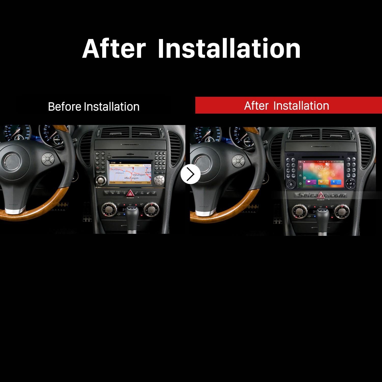 2000 2001 2002 2003 2004-2011 Mercedes BENZ SLK Class SLK200 SLK280 SLK350  SLK55 GPS