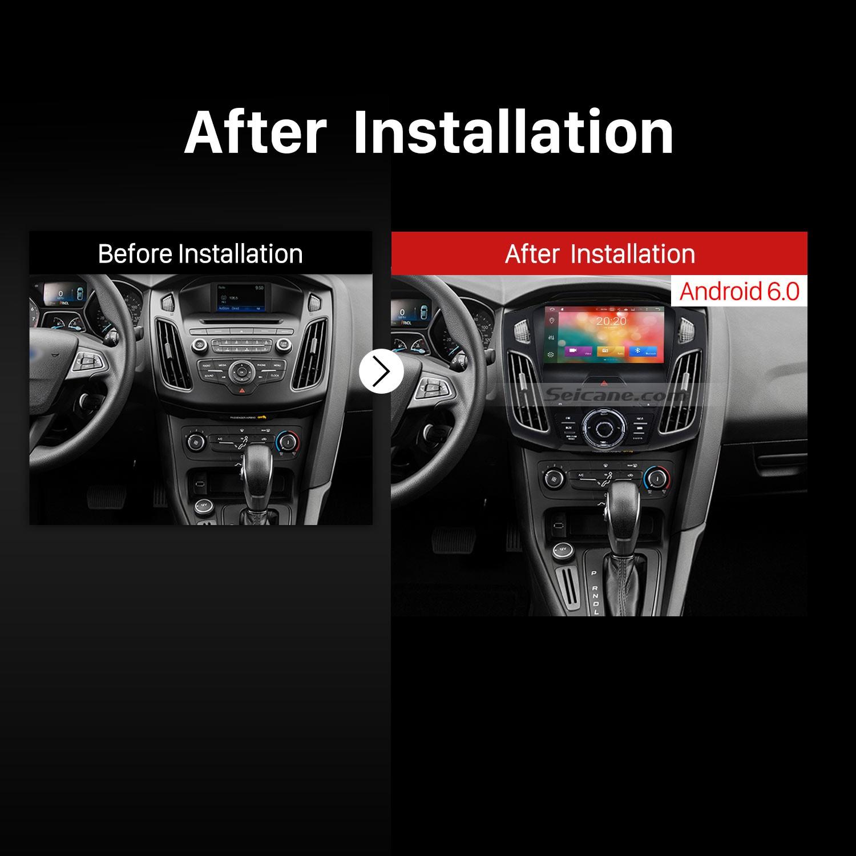 2017 Ford Focus Car Radio After Installation