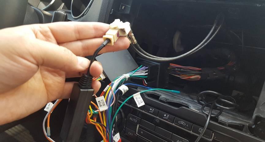 2011 2012 2013 2014 Vw Gti Car Radio With Bluetooth Gps Installation