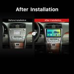 2006 2007 2008 2009 2010 Toyota Camry GPS Bluetooth Car Radio after installation