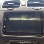 2011 2012 2013 2014 VW GTi Car Radio with Bluetooth GPS after installation