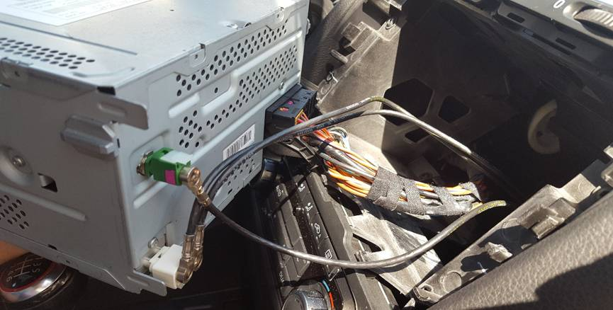 2011 2012 2013 2014 vw gti car radio with bluetooth gps installation rh seicane com
