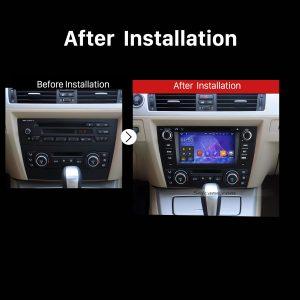 2005 2006 2007 2008 2009-2012 BMW 3 Series E90 E91 E92 E93 Car Radio after installation