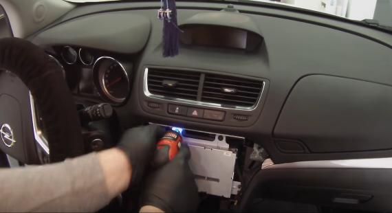 Remove S That Are Holding The Original Car Radio
