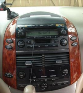 The original car radio for 2004-2010 Toyota Sienna