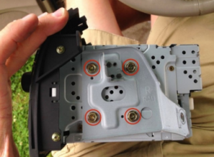If necessary, please remove the left and right radio mounting brackets to install on the new Seicane car radio