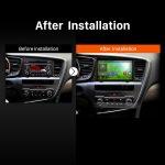 2011 2012 2013 Kia k5 Car Stereo after installation