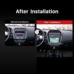 2012 CITROEN C4 Bluetooth GPS DVD Touch Screen Car Radio after installation
