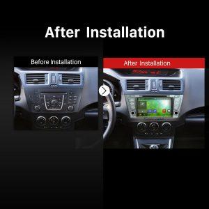 2010 2011 2012 2013 Mazda 5 PremacyCar Radio after installation