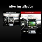2012 2013 Toyota CAMRYGPS DVD Bluetooth Car Radio after installation