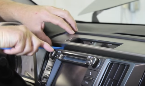 2013 2014 2015 2016 Toyota RAV4 Car Stereo installation