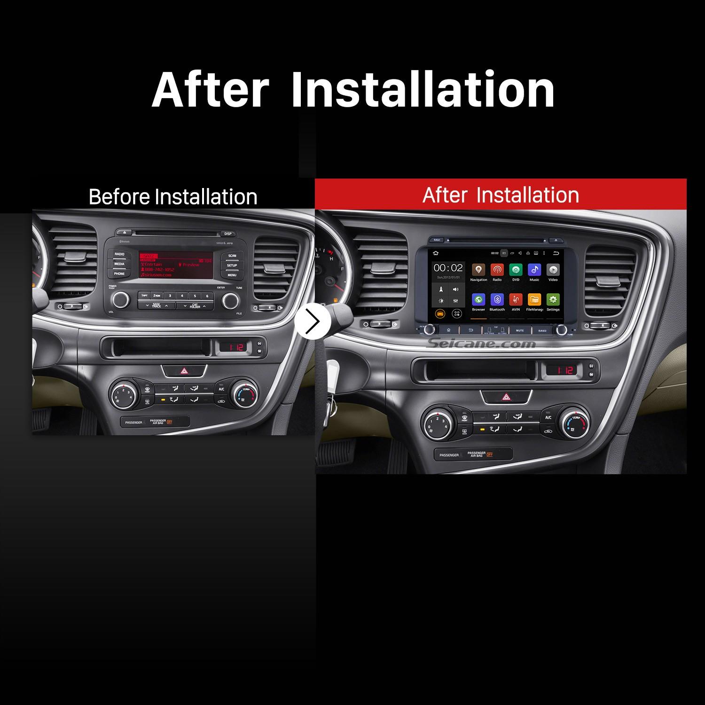 2017 Kia K5 Optima Car Stereo After Installation