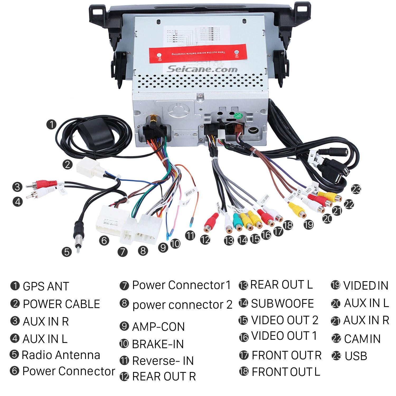 2013 2014 2015 2016 Toyota RAV4 Car Stereo installation ... Rav Reverse Wiring Diagram on