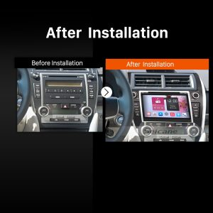 2012 2013 2014 2015-2017 TOYOTA CAMRY EUR VERSION Car Radio after installation