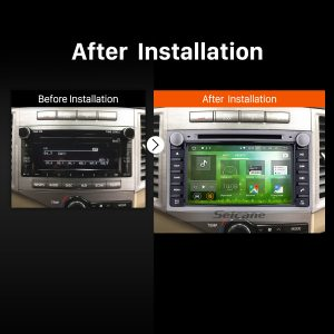 2008 2009 2010 2011 2012-2016 TOYOTA Venza GPS Navi after installation