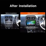 2012 CITROEN C4 car stereo after installation