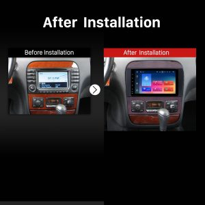 1998 1999 2000 2001-2005 Mercedes-Benz CL-Class W215(CL600, CL550, CL55 AMG) GPS Bluetooth Car Stereo after installation