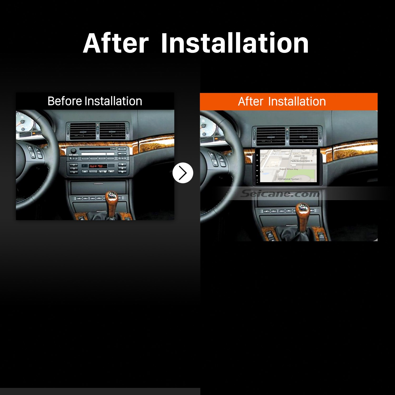 1998 1999 2000 2001 2006 Bmw 3 Series M3 E46 316i 318i 320i 323i 325i Car Stereo Installation Seicane