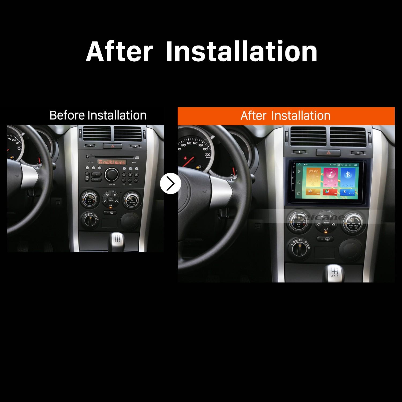 2005 2006 2007 2008-2013 Suzuki Vitara Car Stereo installation | car