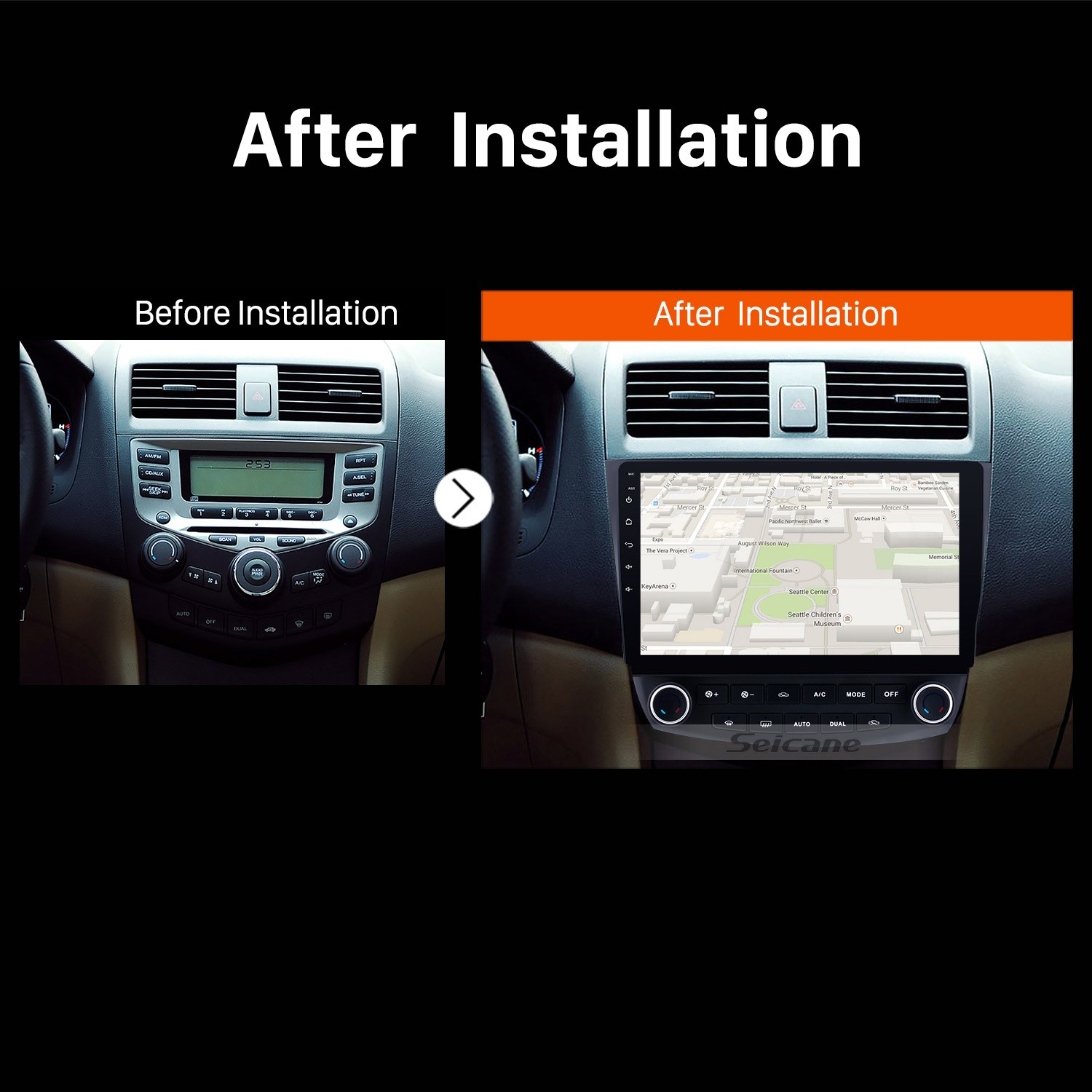 2003 2004 2005 2006-2007 Honda Accord 7 Bluetooth GPS