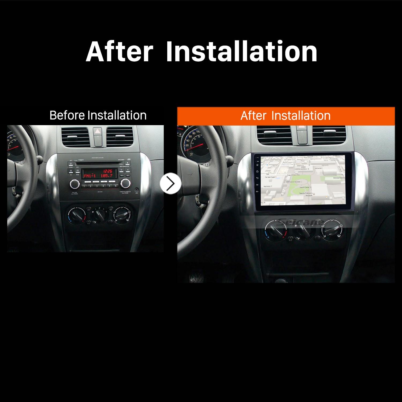 2006 2007 2008 2009-2012 Suzuki SX4 GPS Sat Nav installation